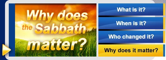 Why does sabbath matter?